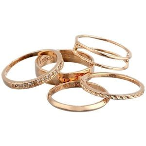 Kendra Scott 'Kara' Stackable Midi Rings